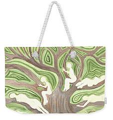 Girls In A Tree Weekender Tote Bag