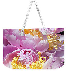Weekender Tote Bag featuring the photograph Girly Girls by Lilliana Mendez