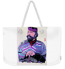 Giuseppe Garibaldi Weekender Tote Bag by Roberto Prusso