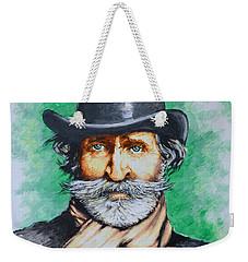 Giuseppe Verdi Weekender Tote Bag