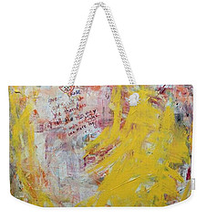 Give Me A Rose Weekender Tote Bag