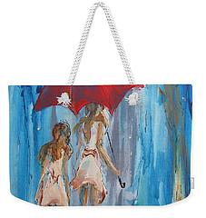 Give Me Shelter Weekender Tote Bag