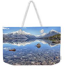Glacial Lake Mcdonald Weekender Tote Bag