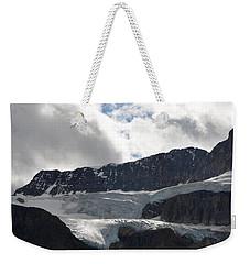 Glacial Mountain Weekender Tote Bag