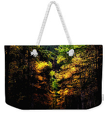 Glacier Fall Road Weekender Tote Bag