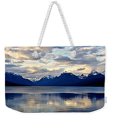 Glacier Morning Weekender Tote Bag