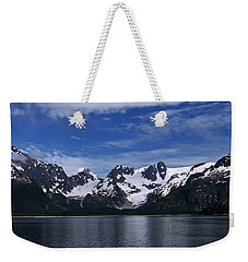 Glacier View Weekender Tote Bag by Aimee L Maher Photography and Art Visit ALMGallerydotcom