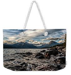 Glacier Whispers Weekender Tote Bag