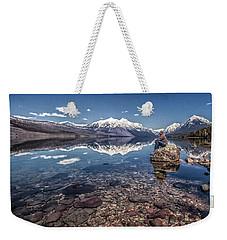 Glacier Zen Weekender Tote Bag