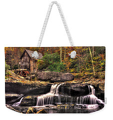 Glade Creek Grist Mill 1a - Autumn Late Afternoon Babcock State Park Wv Weekender Tote Bag