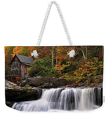 Glade Creek Grist Mill - Photo Weekender Tote Bag