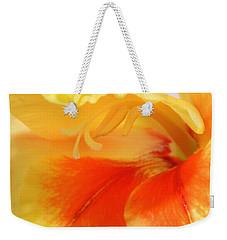Gladiola Hello Weekender Tote Bag by Deborah  Crew-Johnson