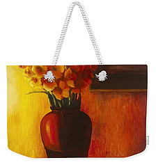 Gladioli Red Weekender Tote Bag