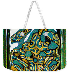 Glass Block Abstract 3 Weekender Tote Bag by Dee Dee  Whittle
