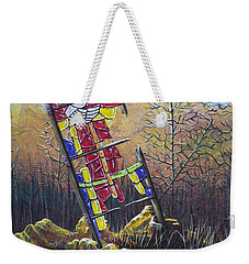 Glass Dove Weekender Tote Bag