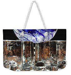 Glass On Glass Weekender Tote Bag by Jolanta Anna Karolska
