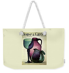 Glass Pieces By Benko Weekender Tote Bag