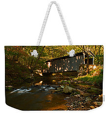 Glen Hope Covered Bridge Weekender Tote Bag