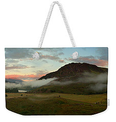 Weekender Tote Bag featuring the photograph Glen Strathfarrar by Macrae Images