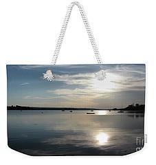Glenmore Reservoir Calm Weekender Tote Bag by Stuart Turnbull