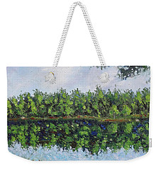 Glenoak Lake Weekender Tote Bag by Jason Williamson