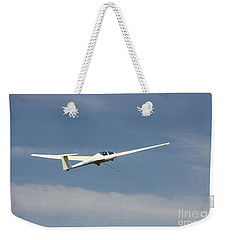 Glider In The Sky Weekender Tote Bag