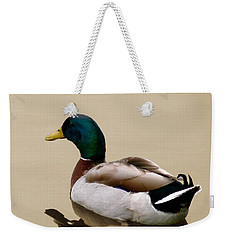 Weekender Tote Bag featuring the photograph Gliding by Frank Bright