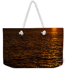 Glimmer Weekender Tote Bag by Chad Dutson