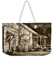 Glimpse Of The Past Weekender Tote Bag
