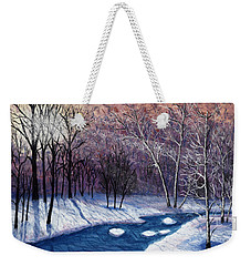 Glistening Branches Weekender Tote Bag