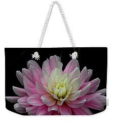 Glistening Dahlia Radiance Weekender Tote Bag