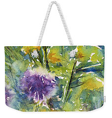 Globes And Rockets Weekender Tote Bag by Judith Levins