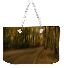 Gloomy Autumn Weekender Tote Bag