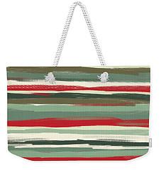 Gloomy Beach Day Weekender Tote Bag by Lourry Legarde