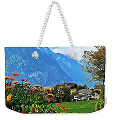 Glorious Alpine Meadow Weekender Tote Bag