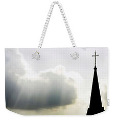 Weekender Tote Bag featuring the photograph Glorious Day by Charlotte Schafer