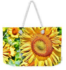 Glorious Sunflowers Weekender Tote Bag