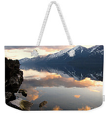 Glorious Sunset Weekender Tote Bag by Leone Lund