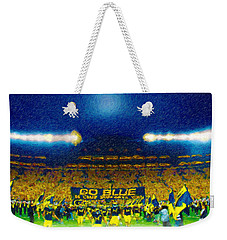 Glory At The Big House Weekender Tote Bag by John Farr