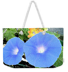 Weekender Tote Bag featuring the photograph Glory Morn by Ecinja Art Works