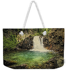 Weekender Tote Bag featuring the photograph Glory Pool by Priscilla Burgers