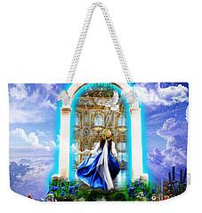 Glory Portal  Weekender Tote Bag by Dolores Develde