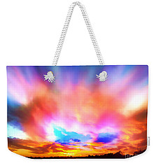 Glory Sunset Weekender Tote Bag by Patricia L Davidson