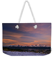 Glow Of Morning Weekender Tote Bag by Jeremy Rhoades