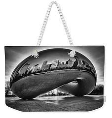 Glowing Bean Weekender Tote Bag by Sebastian Musial