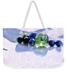 Glowing Marbles Weekender Tote Bag