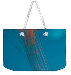 Glowing Orange Sea Nettle Weekender Tote Bag