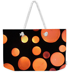 Glowing Orange Weekender Tote Bag by Tiffany Erdman