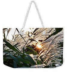 Glowing Pampas Weekender Tote Bag