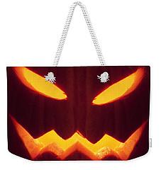 Glowing Pumpkin Weekender Tote Bag